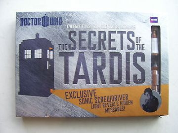 Doctor Who The Secrets of the TARDIS Exclusive Sonic Screwdriver Included